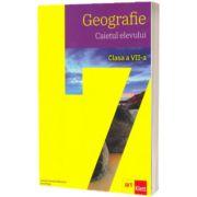 Geografie, caietul elevului pentru clasa a VII-a., Carmen Camelia Radulescu, ART GRUP EDUCATIONAL