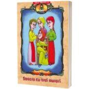 Soacra cu trei nurori, dupa Ion Creanga. Carte de colorat, Ionel Nedelcu, PARALELA 45