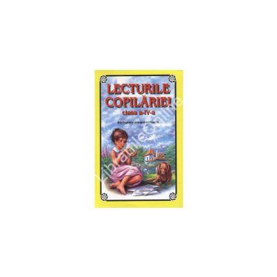 Lecturile copilarie. Bibliografie pentru clasa a IV-a