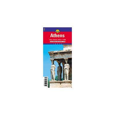 Hartă Rutieră Atena Librariileonline Ro