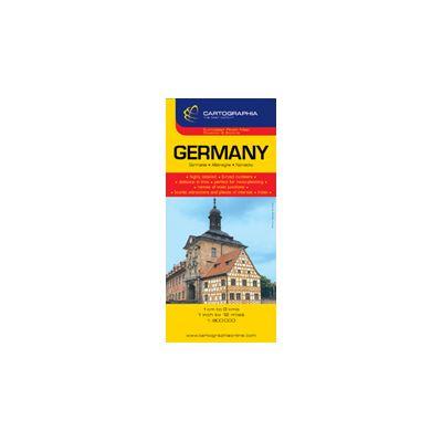 Hartă Rutieră Germania Librariileonline Ro