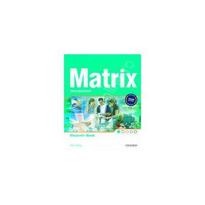 Matrix Introduction Students Book