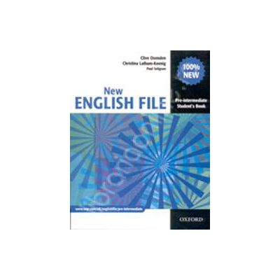 New English File Pre-Intermediate Workbook with Answer Booklet and MultiROM Pack