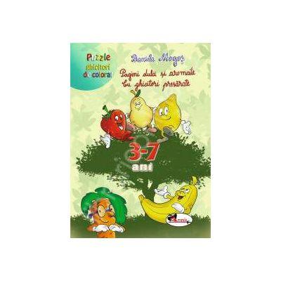 Pagini dulci si aromate. Cu ghicitori presarate (puzzle 3-7 ani)