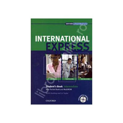 International Express Interactive Intermediate Students Book with MultiROM&DVD