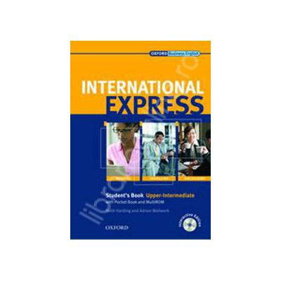 International Express Interactive Upper Intermediate Students Book with MultiROM