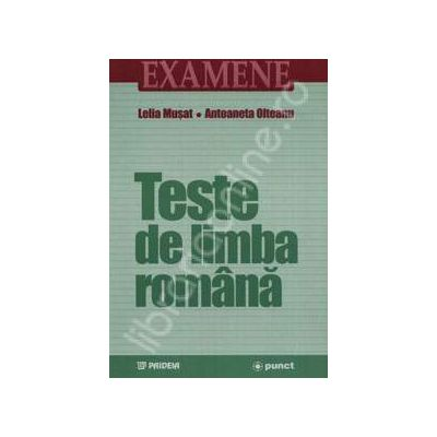 Teste de limba romana