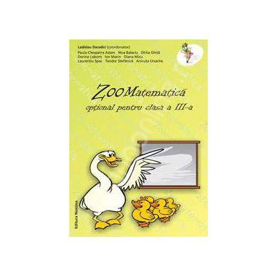 Zoomatematica - optional pentru clasa a III-a