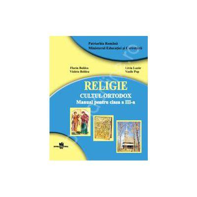 Manual de religie cultul ortodox pentru clasa a III-a