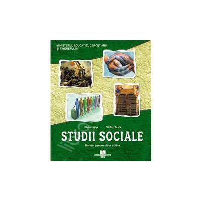 Manual de studii sociale, pentru clasa a XII-a