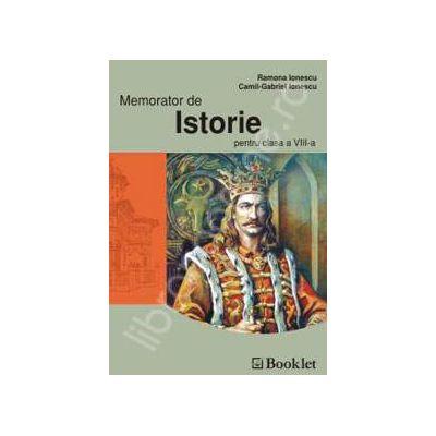 Memorator de Istorie pentru clasa a 8-a