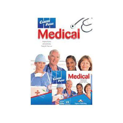 Career Paths. Medical Salon with audio CDs (UK version)