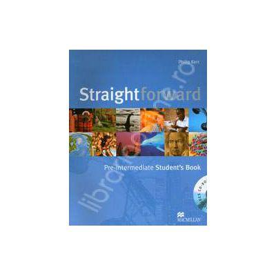 Straightforward (A2-BI) Pre-Intermediate Student's Book. Includes Cd-rom