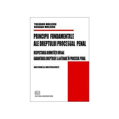 Principii fundamentale ale dreptului procesual penal (Respectarea demnitatii umane - Garantarea dreptului la aparare in procesul penal)