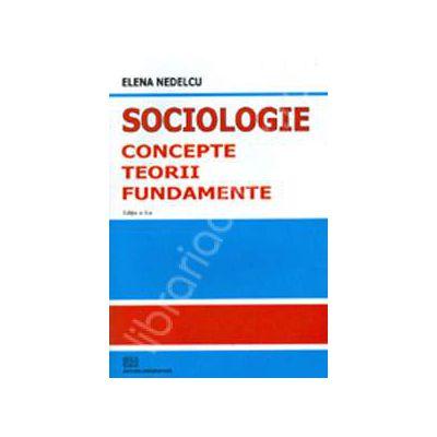 Sociologie - concepte, teorii, fundamente