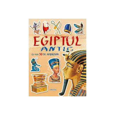 Cauta si lipeste - Egiptul Antic cu peste 50 de abtibilduri