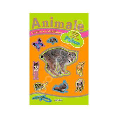 Jocuri si abtibilduri cu animale - Padure