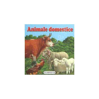 Animale Domestice. Pliant cartonat cu imagini color