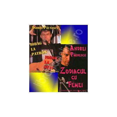 Set carti de Andrei Paunescu. Iobag la patron, iobag la stat si Zodiacul cu femei