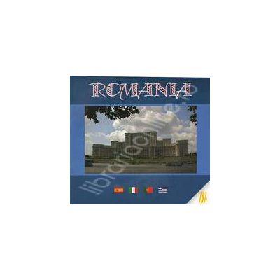Romania. Album in limbile spaniola, italiana, portugheza, greaca