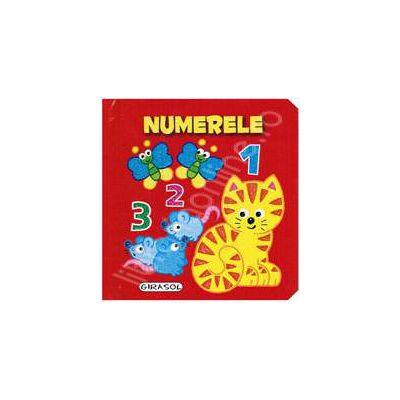 Numerele. Pliant cartonat (Pop-Up)