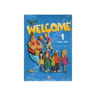 Curs de limba engleza. Welcome 1 class CDs (Set 3 CD)