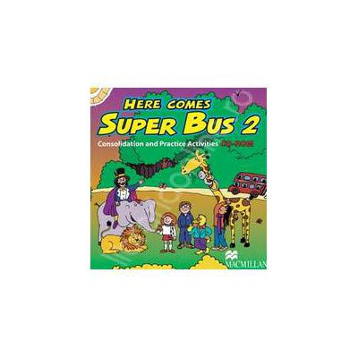 Here Comes Super Bus 2 - Consolidation and Practice Activities CD-ROM