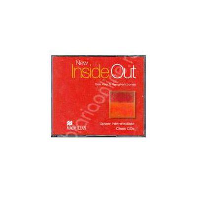 New Inside Out Upper Intermediate B2 Audio CDs, 3 (Contine 3 cd-uri)