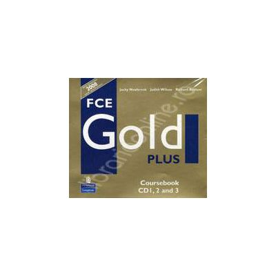 FCE Gold Plus Coursebook CD 1, 2 and 3
