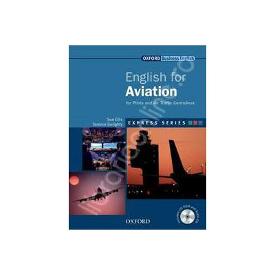English for Aviation Students Book, MultiROM and Audio CD