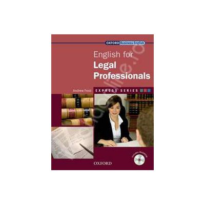 English for Legal Professionals: Students Book and MultiROM Pack