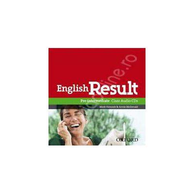 English Result Pre-Intermediate Class Audio CDs (2)