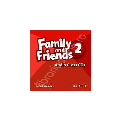 Family and Friends 2 Class Audio CDs (2)