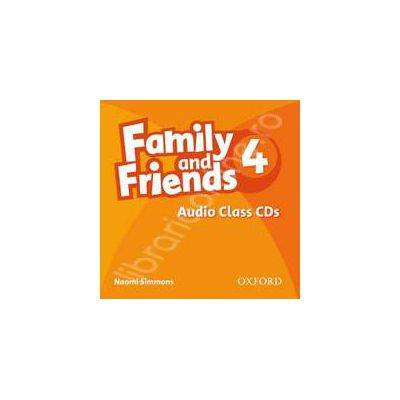 Family and Friends 4 Class Audio CD (3)