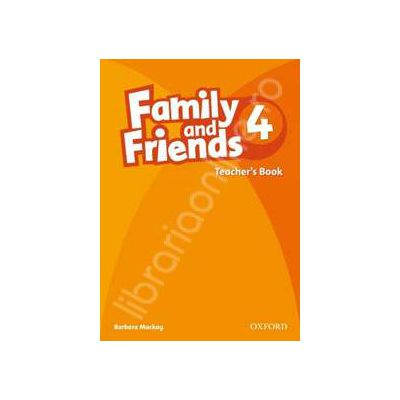 Family and Friends 4 Teachers Book