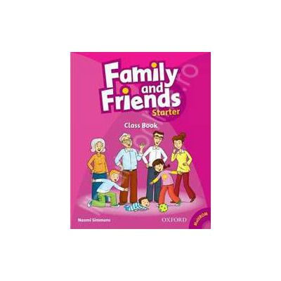 Family and Friends Starter Class Book plus Student Multi-ROM