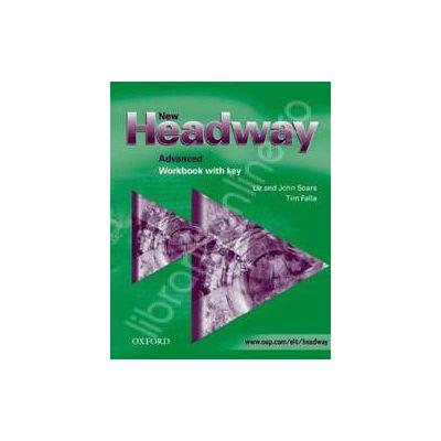 New Headway Advanced Workbook (with Key)