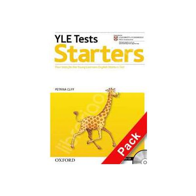 Cambridge Young Learners English Tests Starters Students Pack