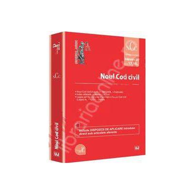 Noul Cod civil - Editie standard. Legislatie consolidata 16 septembrie 2013