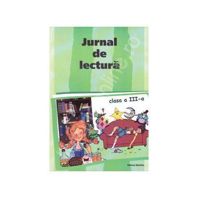 Jurnal de lectura clasa a III-a