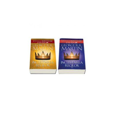 Seria - Cantec de gheata si foc. Inclestarea regilor, Volumul II (Editie, paperback in 2 Volume)