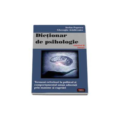 Dictionar de psihologie vol. 3