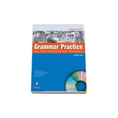 Grammar Practice for Pre-Intermediate Student Book with Key Pack and CD-ROM