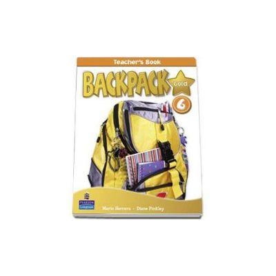 Backpack Gold 6 Teachers Book (Mario Herrera)