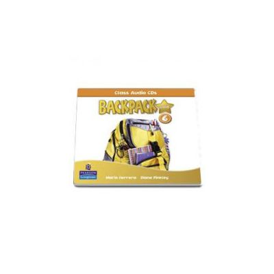 Backpack Gold 6 class audio CD (Mario Herrera)