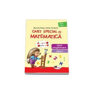 Caiet special de matematica, pentru clasa pregatitoare si clasa I (Aricel)