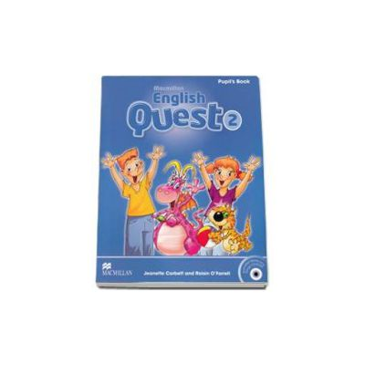 English Quest 2, Level 2 - Pupils Book Pack (Animated Stories and Songs CD-ROM)
