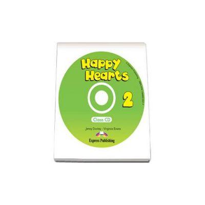 Curs pentru limba engleza Happy Hearts 2 Class CD (Virginia Evans)
