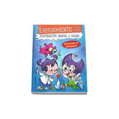 Experimente pentru copii - Distractiv, rapid si usor! (Albastra)