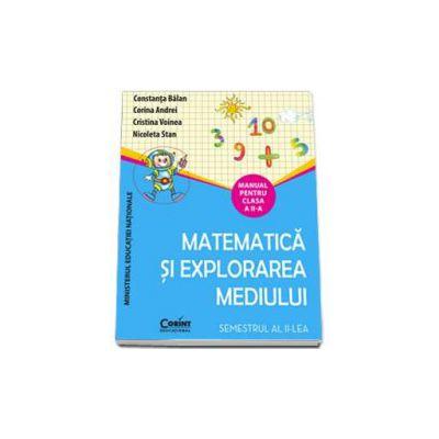 Manual pentru clasa a II-a. Matematica si explorarea mediului - Semestrul al II-lea (Constanta Balan)